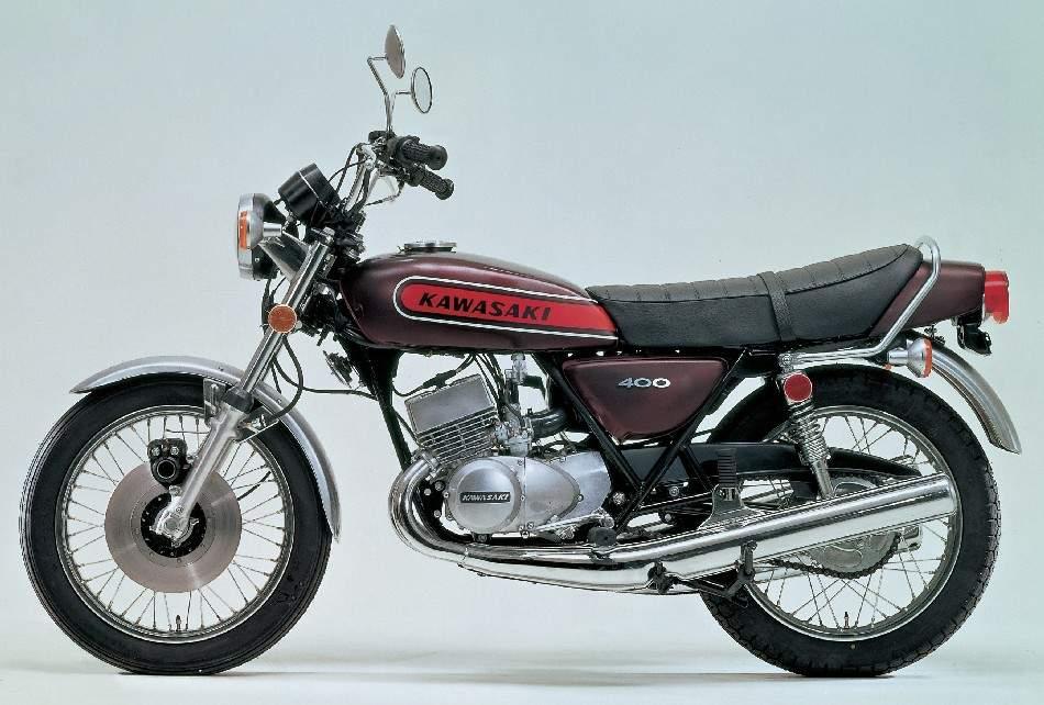 Kawasaki SS400 74